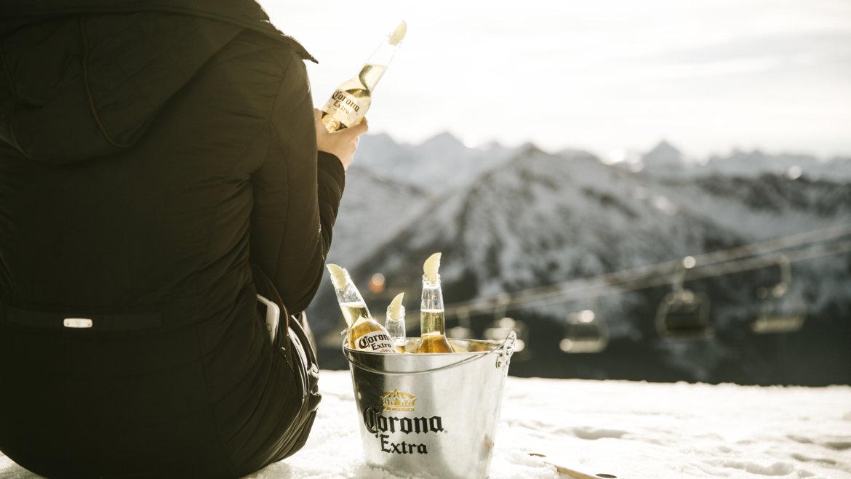 Corona SunSet im Schnee
