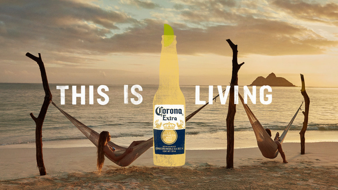 "Corona sagt ""This is Living"""